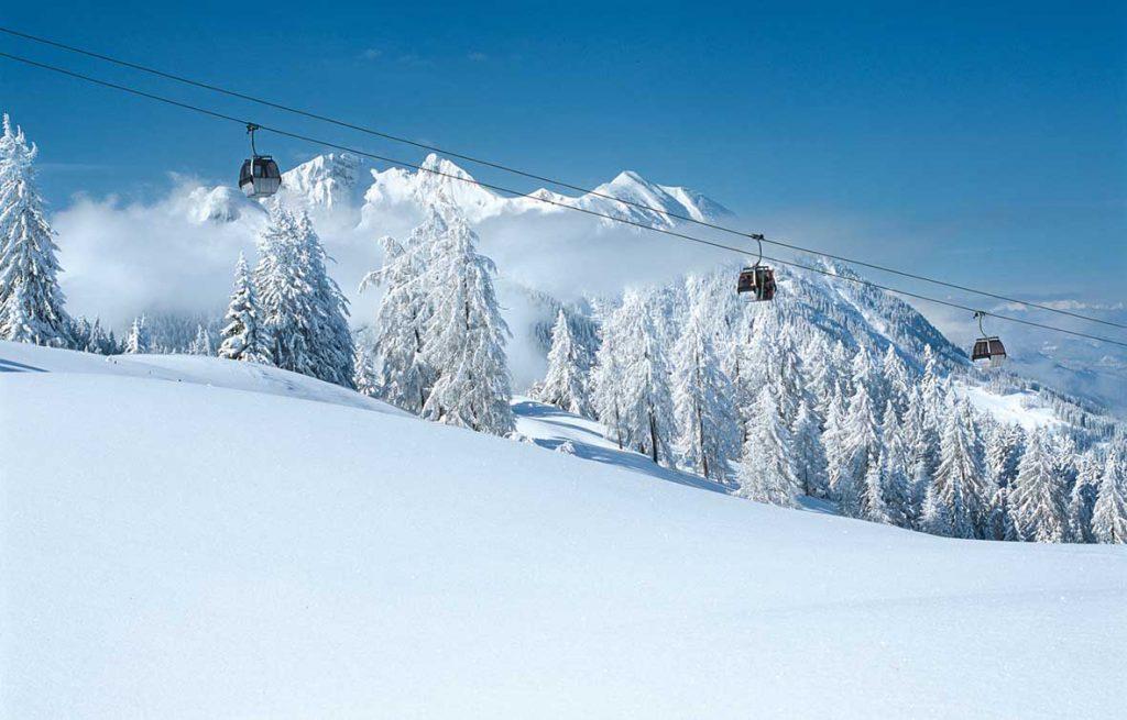 Skifahren im Salzburgerland