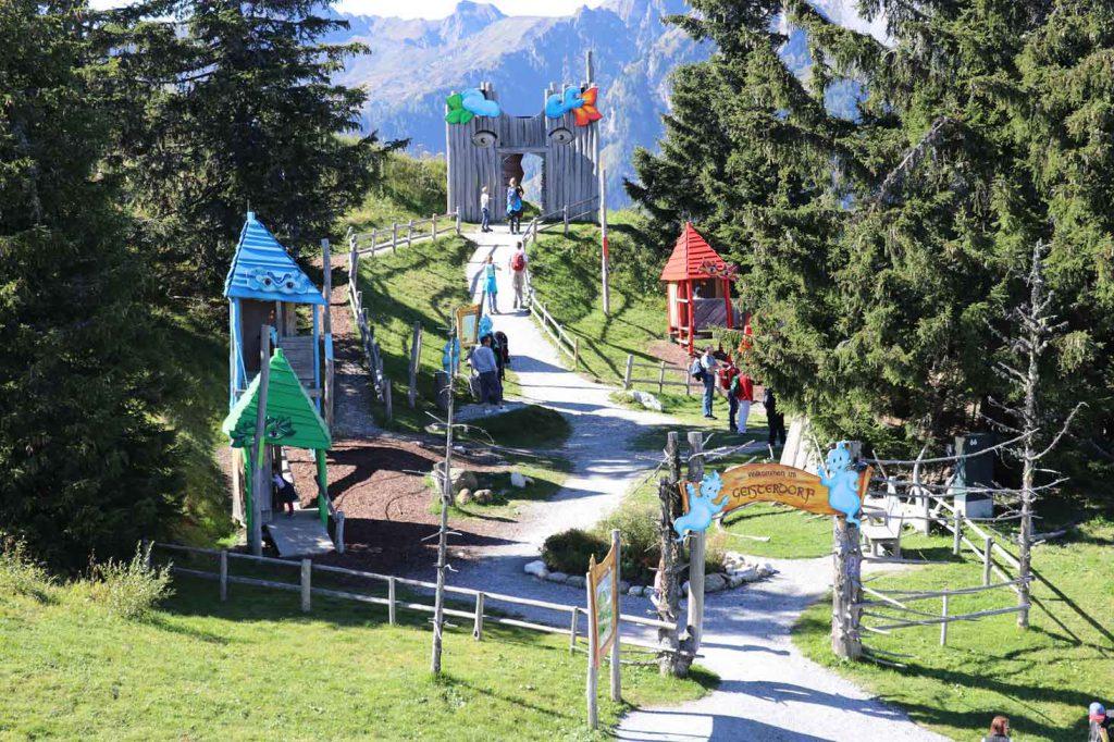 Geisterberg im Salzburgerland