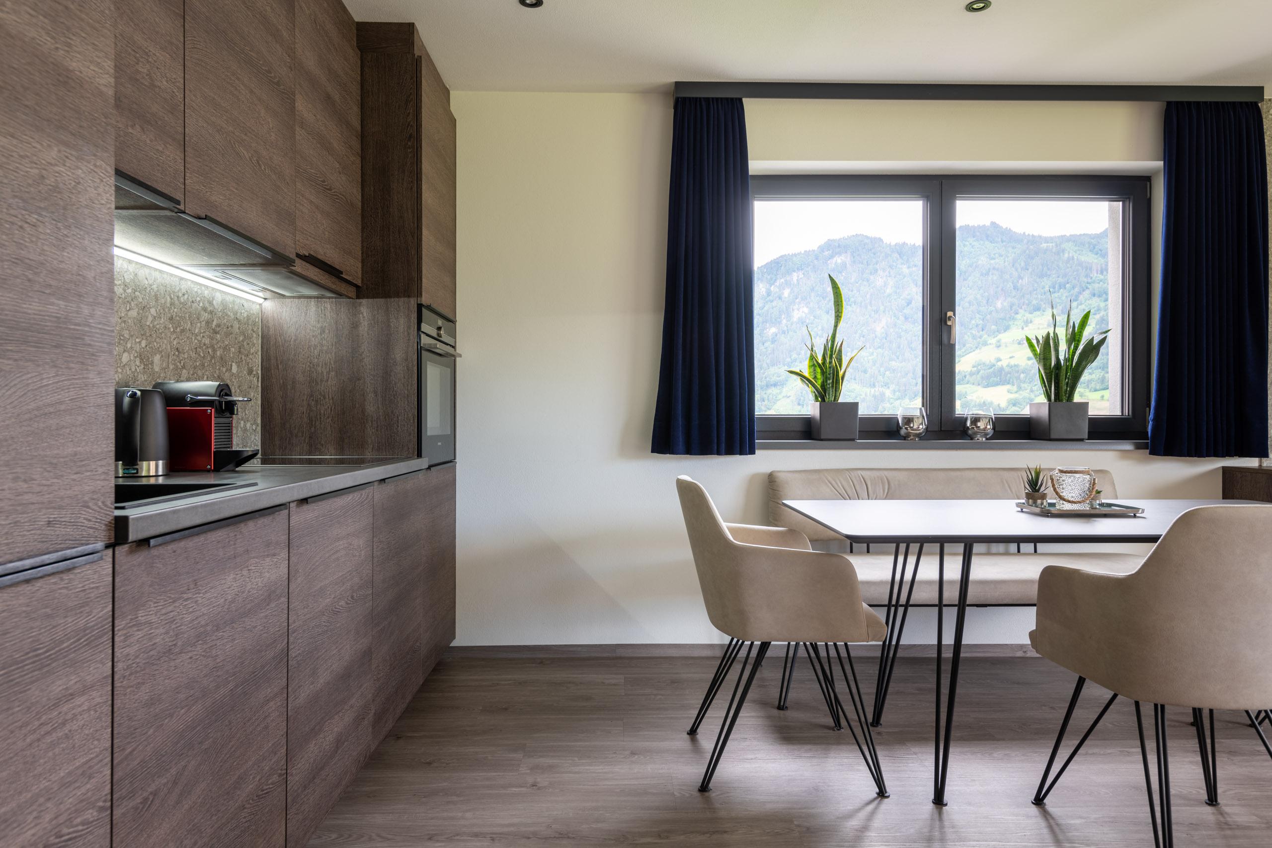 Küche Appartement Deluxe