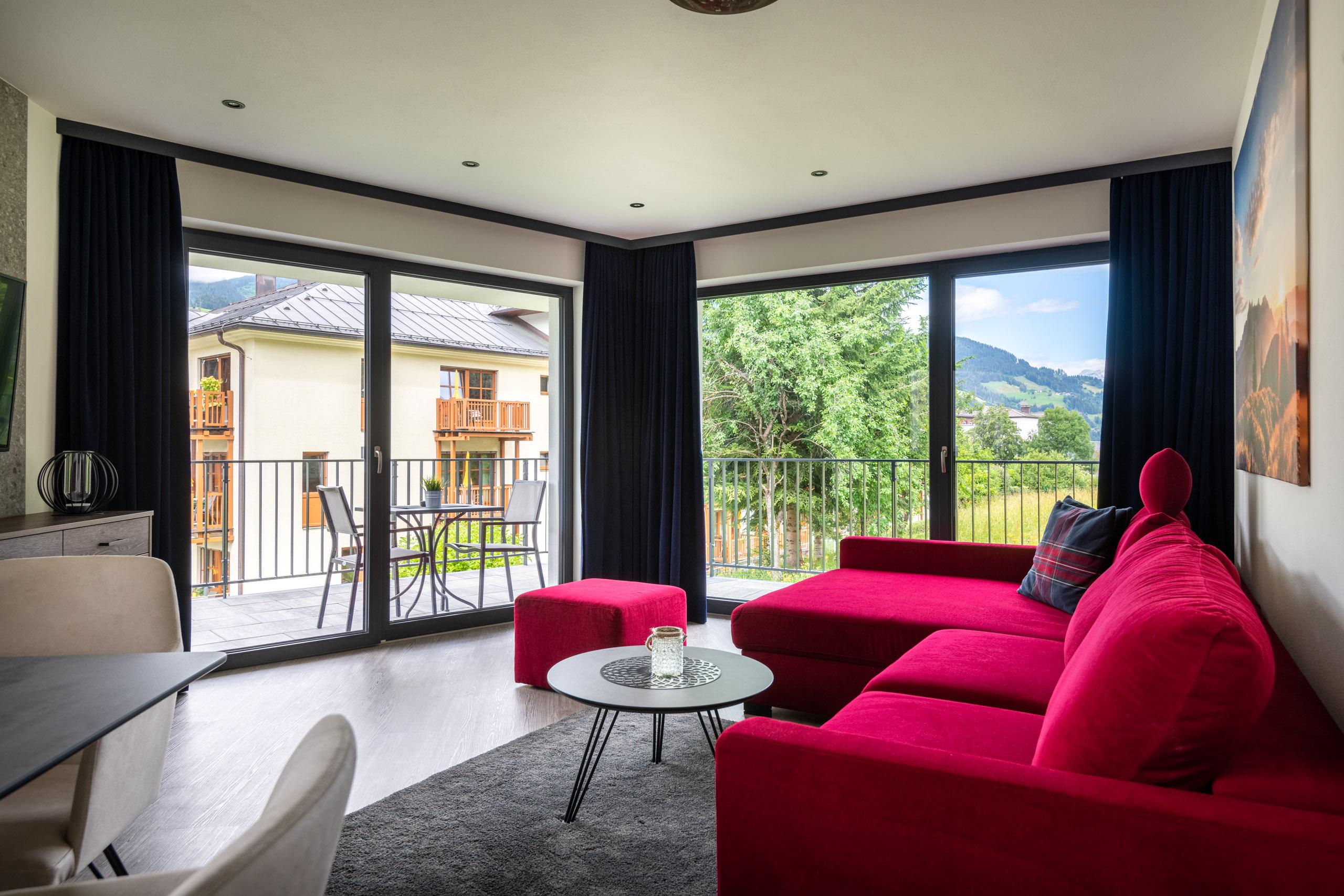 Wohnbereich Appartement Deluxe